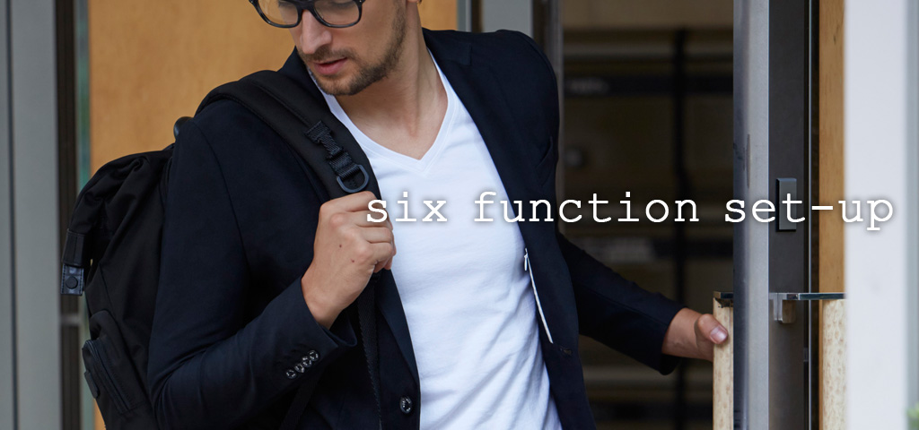 new release 「six function set-up」