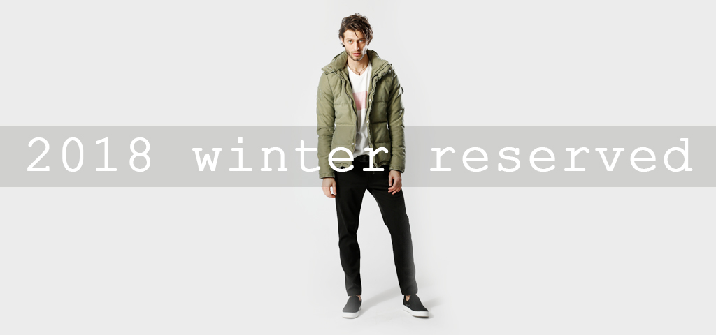 2018 winter collection reserve